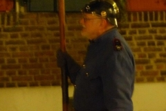 Ein Feuerwehrmann