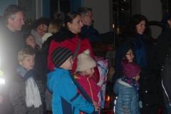 Begeisterte Teilnehmer beim Kinderrundgang