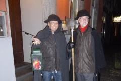 Zwei Nachtwächter im Einsatz