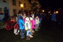 Kinder auf dem Andreasmarkt