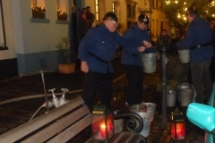 Löschaktion auf dem Andreasmarkt