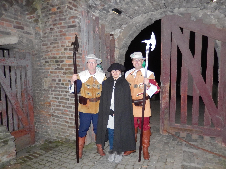 Nachtwächter mit Landsknechten